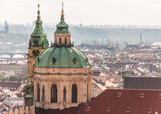 St Nicholas Church, Prague, Royalty Free Stock Photography