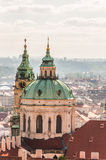St Nicholas Church, Prague Royalty Free Stock Photography