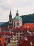 St. Nicholas Church in Prague Stock Photos