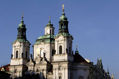 St Nicholas Church in Prague Stock Image