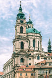 St. Nicholas Church in Prague, Czech Republic Royalty Free Stock Photography