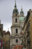 St Nicholas Church from Prague in Czech Republic Stock Photos