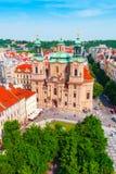 St. Nicholas Church in Prague, Czech Republic Stock Photos