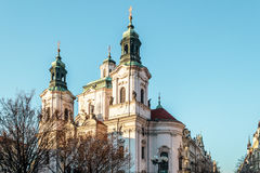 St. Nicholas Church at Prague, Czech Republic Royalty Free Stock Photography