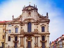 St.Nicholas Church in Prague Royalty Free Stock Image