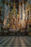 St Nicholas Church Prague. The Church of Saint Nicholas (Czech: Kostel svatého Mikuláše) also called the Saint Nicholas Cathedral (Czech: Chrám svat royalty free stock photos