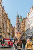 St. Nicholas Church in Prague Royalty Free Stock Photos
