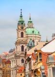 St Nicholas Church in Prague Royalty Free Stock Photos