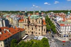 St. Nicholas Church in Prague Royalty Free Stock Photos