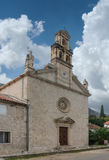 St. Nicholas Church. Prcanj town, Montenegro Stock Image