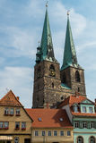 St Nicholas Church in Quedlinburg. Germany Royalty Free Stock Photography