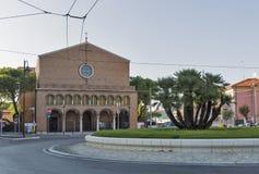 St. Nicholas Church in Rimini, Italy. Stock Photography