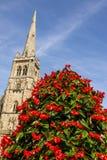 St Nicholas Church - ` s do NIC do St - Durham Reino Unido fotografia de stock royalty free