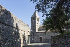 St. Nicholas church in Sestri Levante Royalty Free Stock Image