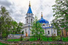 St. Nicholas church in Sortavala, Russia. St. Nicholas church in Sortavala, Republic of Karelia, Russia royalty free stock images