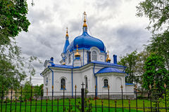 St. Nicholas church in Sortavala, Russia. St. Nicholas church in Sortavala, Republic of Karelia, Russia stock photography