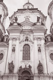 St Nicholas Church in Stare Mesto Neighborhood; Prague Stock Photography