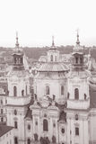 St Nicholas Church; Stare Mesto Neighborhood; Prague Royalty Free Stock Photos
