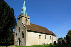 St Nicholas Church, Steventon, Hampshire Royaltyfri Foto