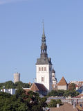 St Nicholas Church in Tallinn. Cityscape of Tallin, capital of Estonia, Baltic Republic Royalty Free Stock Photo