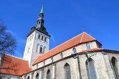 St. Nicholas Church, Tallinn. Stock Photos