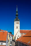 St. Nicholas Church in Tallinn Stock Image