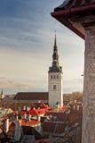 St Nicholas Church a Tallinn, Estonia Immagine Stock