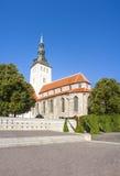 St. Nicholas church in Tallinn, Estonia Stock Images