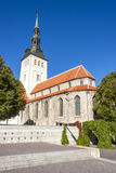 St. Nicholas church in Tallinn, Estonia Royalty Free Stock Photography
