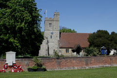 St Nicholas Church, Tillingham, Essex Fotografia Stock
