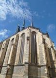 St Nicholas Church - Tjeckien Royaltyfria Foton