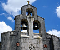 St Nicholas Church, vieille barre, Monténégro Image stock