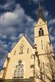 St. Nicholas Church in Villach Stock Image
