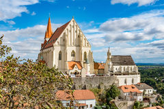 St. Nicholas Church in Znojmo. A view on St.Nicholas Church in Znojmo Royalty Free Stock Image