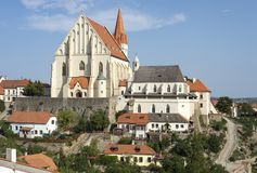 St. Nicholas Church in Znojmo Royalty Free Stock Images