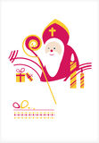 St. Nicholas Day. Man Royalty Free Stock Photography