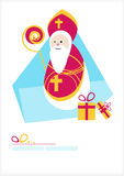 St. Nicholas Day. Man with gifts Stock Images