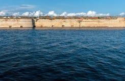 St Nicholas forteca przy morzem zdjęcie stock