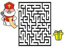 St. Nicholas game. Royalty Free Stock Image