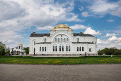 St. Nicholas Garrison Cathedral Brest royalty free stock images