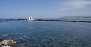 st nicholas georgioupolis молельни стоковое изображение
