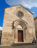 St. Nicholas of the Greeks Church. Altamura. Royalty Free Stock Photo