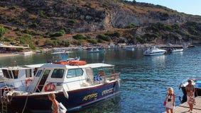 St Nicholas Harbour, Zakynthos, Greece Stock Photo