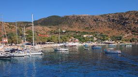 St Nicholas Harbour, Zakynthos, Greece Royalty Free Stock Image