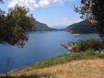 St Nicholas Island i Turkiet Arkivbilder