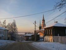St Nicholas kathedraal Royalty-vrije Stock Afbeeldingen