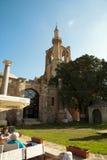St.Nicholas Kathedraal omgezet in Pasha van Lala Mustafa moskee Stock Foto