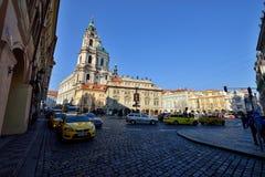 St Nicholas kerk, Praag Royalty-vrije Stock Afbeeldingen
