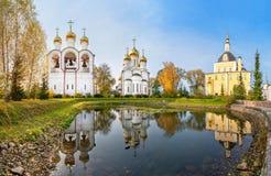 St Nicholas kloster Pereslavsky i Pereslavl-Zalessky, Ryssland royaltyfri bild