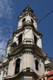 St Nicholas kyrka_tower Fotografering för Bildbyråer